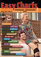 Klavier / Keyboard Noten : Easy Charts  - Deutsche Hits 2  - leicht - MF3598