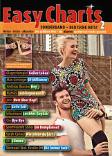 Klavier / Keyboard Noten : Easy Charts  - Deutsche Hits 2  - leicht - MF3598