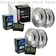 STOPTECH Premium Brake Rotors+Pads Kit for 08-13 Sequoia/07-13 Tundra 925.44073