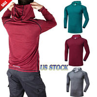 Hot Men Gym Clothing Bodybuilding Hoodie Tank Top Muscle hooded Shirt Hooded Top