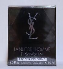 YSL La Nuit de l'Homme Frozen Cologne 60 ml - New sealed in Box.