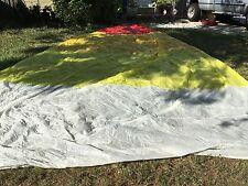 """Spinnaker Sail Fabric Very Good Cond Luff 29'6 Leech 29'6"""" Foot 15'4"""" (#408)"""