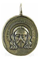 VERONICA'S VEIL / MADONNA AND CHILD Medal, bronze, from antique Italian original