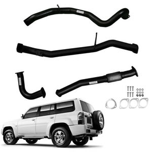 """TO SUIT NISSAN PATROL WAGON GU 4.2L TD 3""""INCH DUMP PIPE BACK EXHAUST WITH PIPE"""