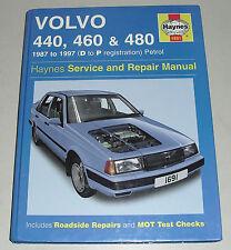 Reparaturanleitung Volvo 440 / 460 / 480, Baujahre 1987-1997