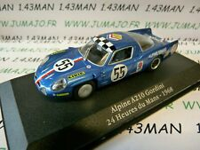 GOR23T Voiture saga GORDINI atlas ELIGOR : Alpine A210 24 H du Mans 1968 #55