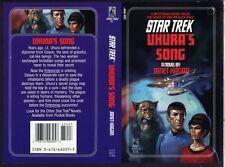 Star Trek COVER PROOF Uhura's Song Spock, Uhura, Enterprise Pocket Books PB Art