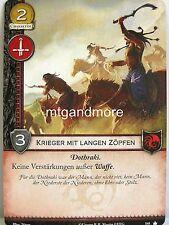 A Game of Thrones 2.0 LCG - 1x #168 Krieger mit langen Zöpfen - Base Set - Secon