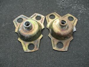 Lot of 2 retainer brackets for Buick Cadillac Deville 15 inch wire spoke hubcaps