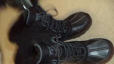 Ugg Australia Unisex Black Snow Boots 13 - New