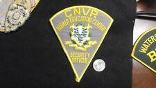 Connecticut CNVR School College University Campus Police vintage defunct old
