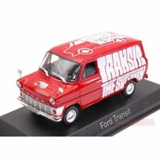 """NOREV - FORD TRANSIT MK1 RED COLOUR FORD PROMOTIONAL """"THE SUPERVAN"""" 1:43 SCALE."""