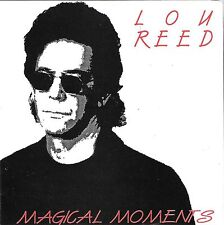 "LOU REED ""Magical Moments"" Live in Amsterdam 1992 Import CD Rob Wasserman Scott"