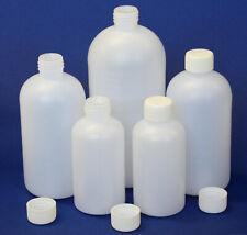 Reagenzflaschen aus PE halbtransparent mit Enghals in Sets-Vol. 250/ 500/ 1000ml