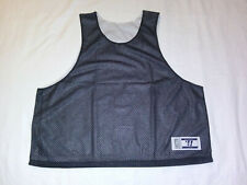 Mens XL Mesh Tank Top Black Jersey T Shirts Team Soccer Sleeveless Reversible
