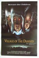 VILLAGE OF THE DAMNED 1995 Australian daybill movie poster John Carpenter horror
