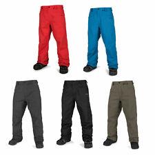 Volcom Carbon Pantalones de Snowboard Hombre Esquí Wintersport-Hose