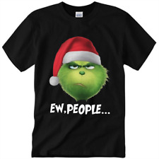 """The Grinch """" Ew People """" Christmas T-Shirt Santa,So Funny Gift Unisex Size S-3XL"""