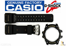 CASIO 10517723 Genuine Factory Replacement Black Rubber Watch Band GG-1000-1A