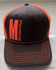 Metro School Of Music Truckers Hat Hip Hop Rapper Adjustable Strapback NEW