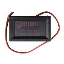 LED Digital Voltmeter 12V-60V Car Marine Motorcycle Meter Voltage Battery M5T6