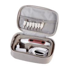Quigg Maniküre-/Pediküre-Set Nagelpflege Fußpflege mit 7 Aufsätzen und LED
