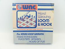 WNC Wool Novelty Co Inc Hand Weaving Loom & Hook **Box Only**
