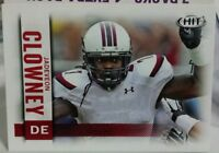 2014 SAGE HIT BASE ROOKIE CARD OF JADEVEON CLOWNEY NO. 7