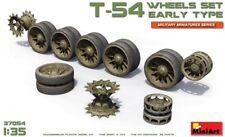 Miniart 1/35 T-54 tipo temprano Ruedas Set # 37054