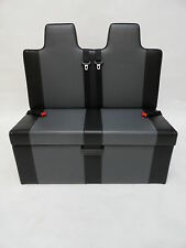 ROCK AND ROLL BED HEADREST 3/4 T4 T5 VIVARO GUNMETAL & BLACK COMPLETE BED
