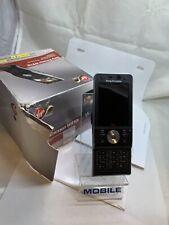 Sony Ericsson Walkman W910i - Black (Unlocked) Mobile Phone Boxed