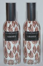 Lot Of 2 Bath & Body Works Leaves Concentrated Room Spray Perfume Mist Brown