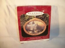 3 Hallmark Ornaments - Victorian Christmas,Greatest Story, & Colors of Christmas