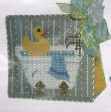 Silver Needle Scrub-a-Dub Ducky Cross Stitch Kit Secret Needle Night April 2014