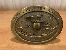 Centennial & Macombers Plow & Planter  Works John Deere 1984 Belt Buckle
