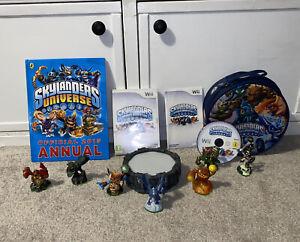 Nintendo Wii Skylanders Spyro's Adventure - Disc, Portal, 7 X Figures, Bag, Book