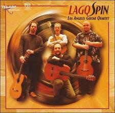 LAGQ LOS ANGELES GUITAR QUARTET: SPIN SUPER AUDIO CD SACD! NR-MINT+