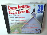 """COUNTRY SUPERSTARS, CD """"GOSPEL'S BIGGEST HITS"""" NEW SEALED 2005"""