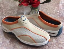 New Cole Haan NikeAir Women's Beige Slip On Mules Shoes Size 8B 161 D17524