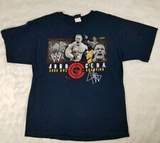 John Cena 2006 WWE Champion Size Large T Shirt Authentic Wrestling