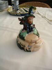 Beautiful St Patrick'S Day Ceramic Leprechaun Trinket Box Candy Dish Handmade