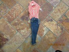 Vintage Barbie Clothing, Picnic Jeans & Top