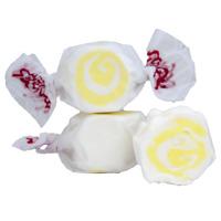 GOURMET PINA COLADA Salt Water Taffy Candy TAFFY TOWN 1/4 LB  to 10 LB BAG