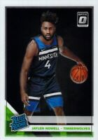 Jaylen Nowell RC 2019-20 Donruss Optic Base Rated Rookie Card #155 Timberwolves