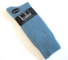 b.ella Ladies 41% Angora Blend Crew Socks Osimo Bluestone - New