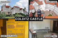 SOUVENIR FRIDGE MAGNET of COLDITZ CASTLE GERMANY