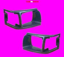 Toyota Hiace Head Light 1992-1998 Plastic Covers Surrounds Grill Left Right Side