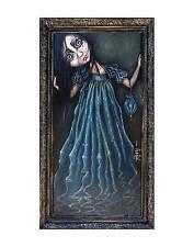 ANGELINA WRONA POSTER BLUE EYES 11x14 surreal girl black hair dress rolled print