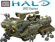 Mega Bloks Halo UNSC Elephant 2011 RETIRED Recon Spartan Marines