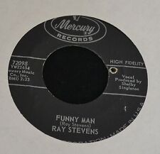 Ray Stevens Mercury 72098 Funny Man and Just On of Life's Little Tragedies